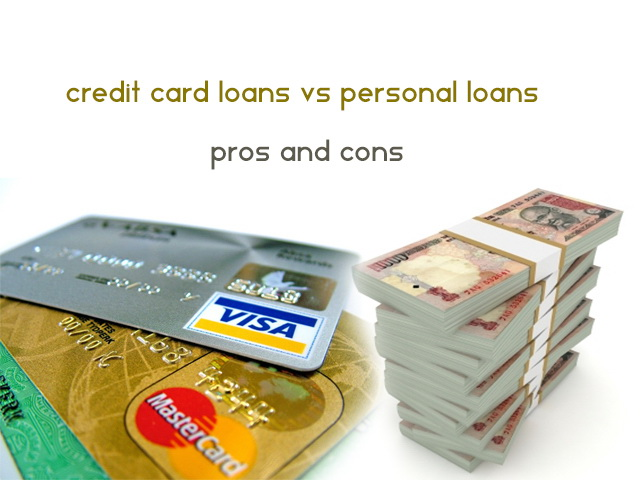 how to get loan on credit card