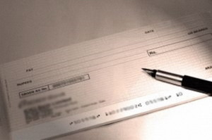 Correct way to Wrtie a Cheque