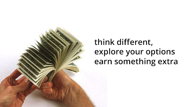 Earn extra money legally
