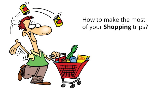 plan your shopping to make the most of your shopping