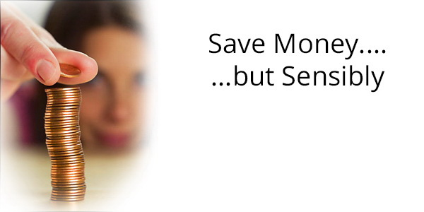 how to save money sensibly