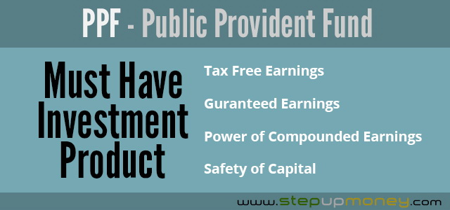 Public Provident Fund must have investment