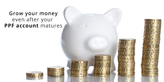 Public Provident Fund - options on maturity