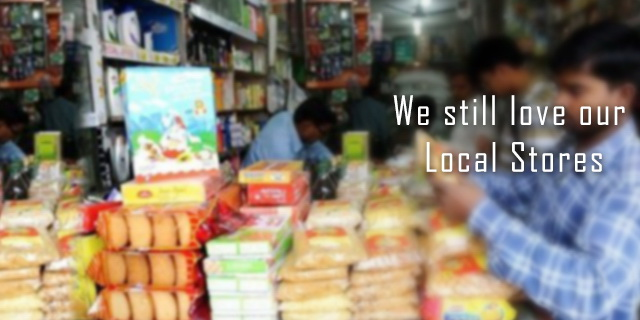 departmental stores vs neighbourhood shops