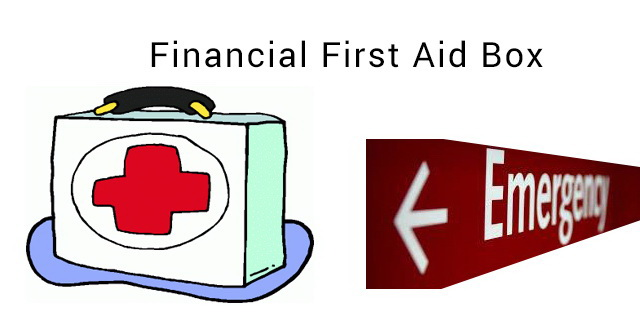 first aid for your finances