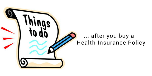 things to do after you buy health insurance