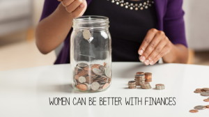 women are great with finances