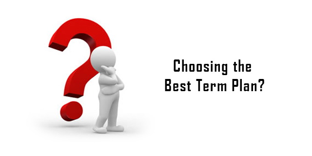 How to choose the best term plan in India