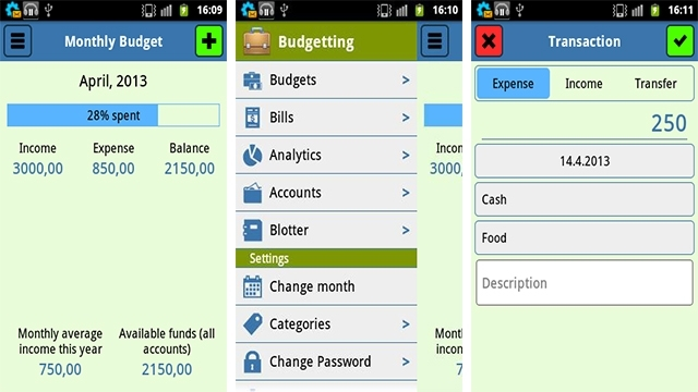mobile apps for finance